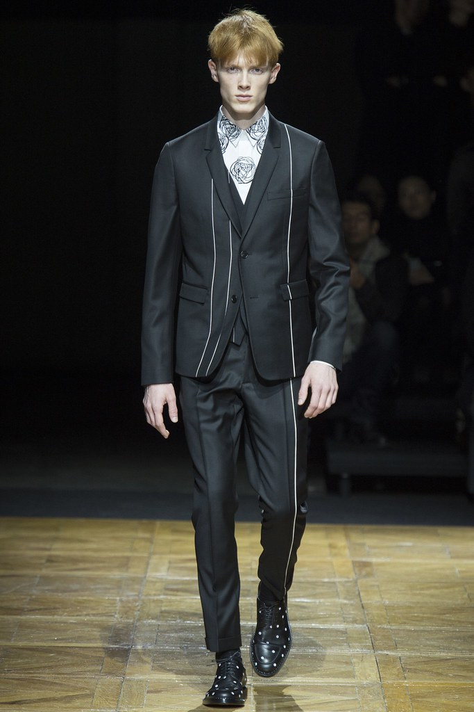 FW14 Paris Dior Homme041_Linus Wordemann(VOGUE)