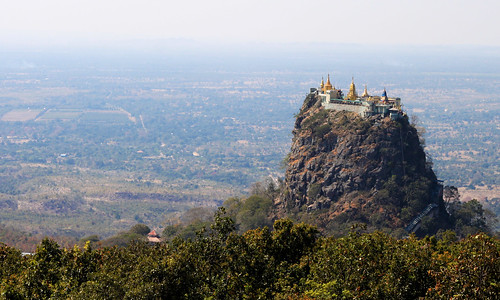 The Peak of Mt. Popa