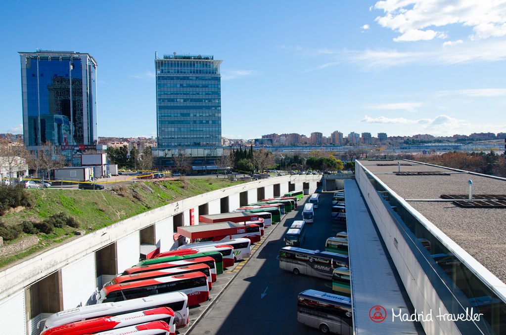 Madrid Bus Station: Estación Sur