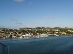 Antigua Hafenausfahrt
