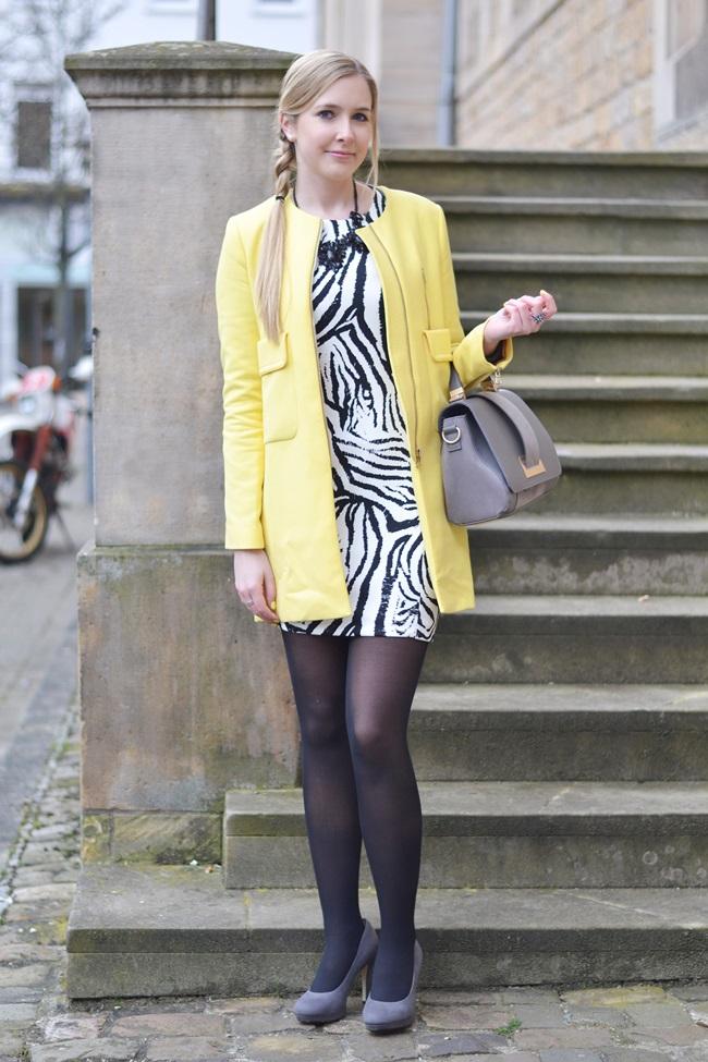 Aufs Zebra gekommen Kleid (5)