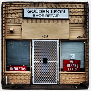 Who would want to get their taxes done by the shoe repair place? And who would want to have their shoes repaired by the tax guy?