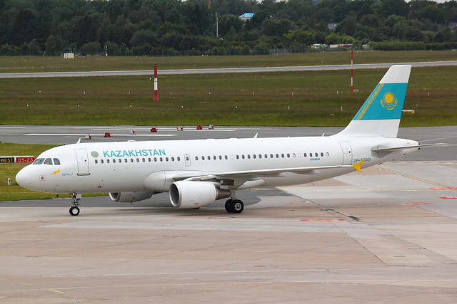 Kazakhstan Government - A320 - UP-200I (1)