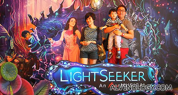 Catching Lightseeker musical at Resorts World Sentosa