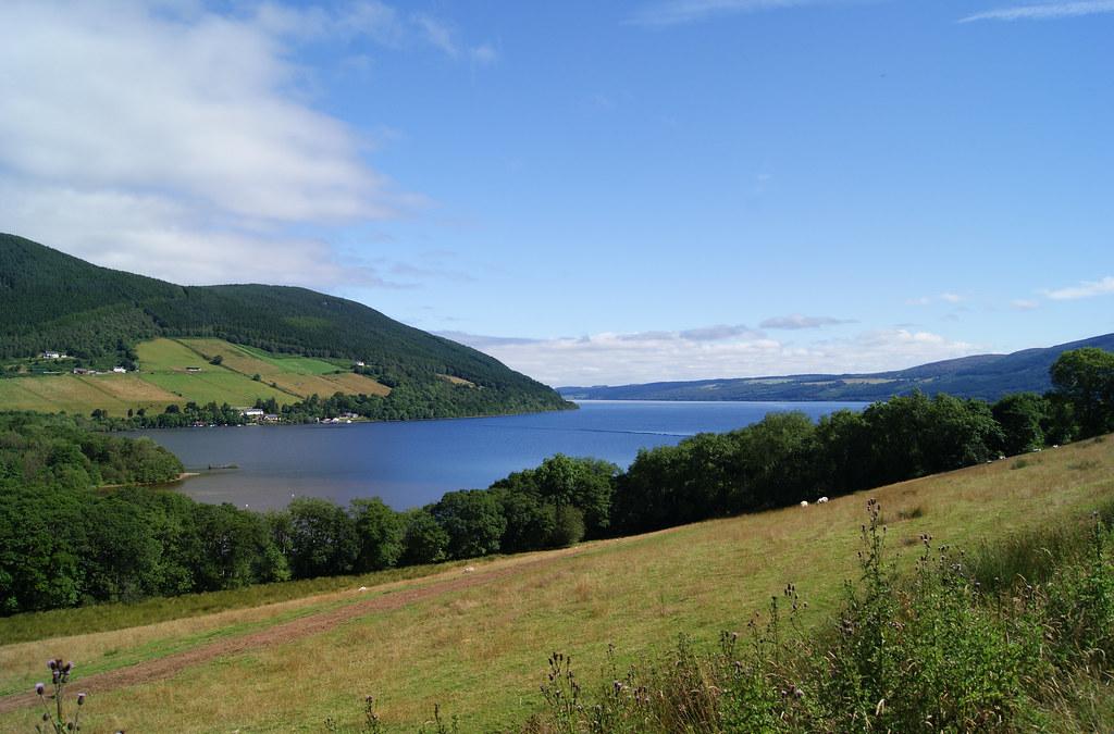 Loch Ness in Drumnadrochit