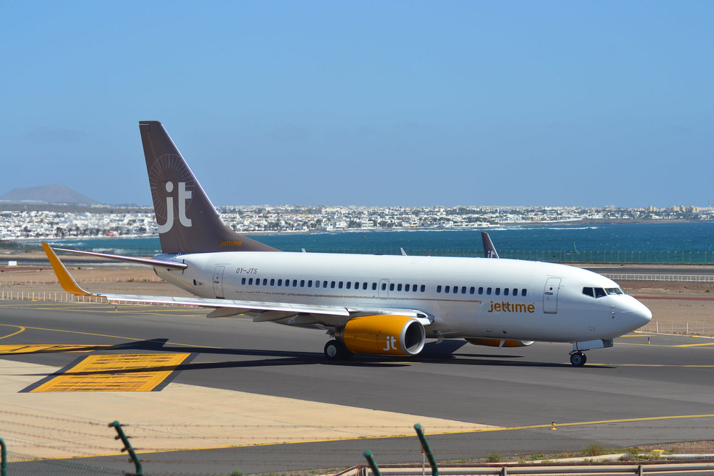 OY-JTS - B737 - Jet Time