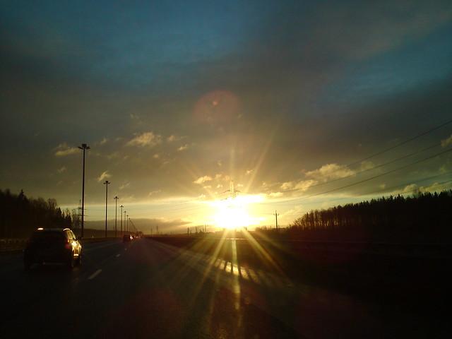 Рассвет // Sunrise