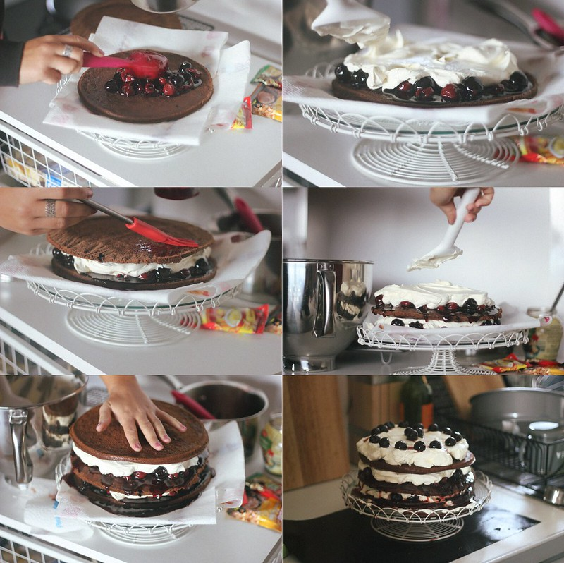 magda's black forest cake