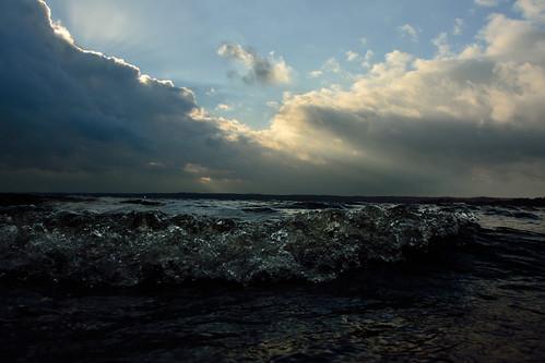 sunset storm night mygearandme
