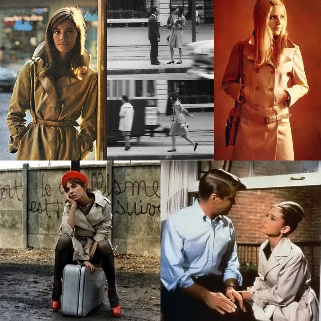 Trench coat inspiration: leading ladies