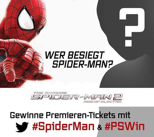 SpiderMan Gewinnspiel