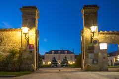 Chateau driveway