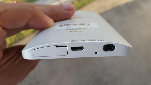 i-mobile IQX Ken ด้านล่าง