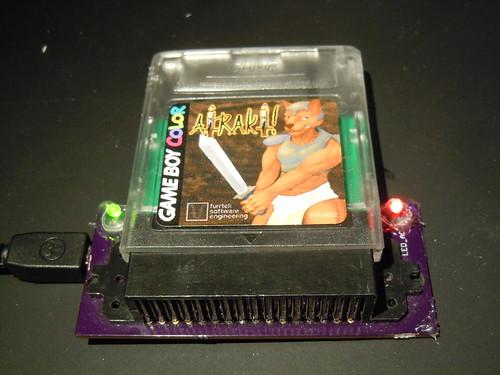 Furrtek's Airaki: Dumping the ROM.
