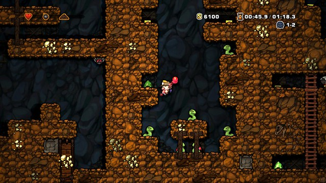 Spelunky on PS4