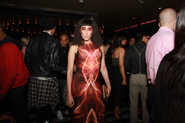 Ladyfag at Paper Magazine Beautiful People party