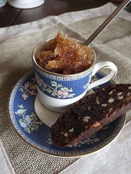 granita et biscotti