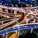Nightscape of Shanghai city by HIKARU Pan