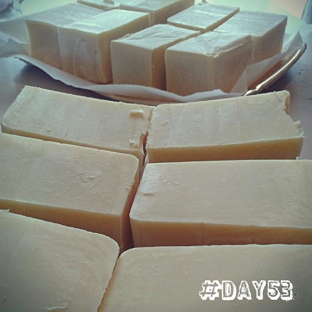 Ecco i frutti della mia prima saponificazione! #soaphandmade #saponedabucato #soap #100happydays #day53