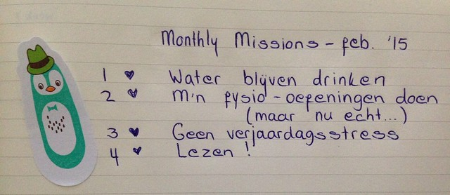 montly missions feb. '15