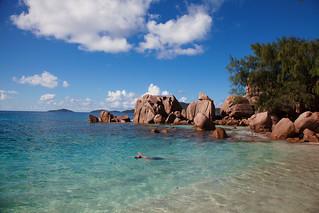 Anse Caiman の画像. seychelles ladigue ansecaïman