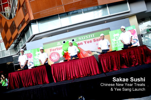 Sakae Sushi Chinese New Year Treats & Yee Sang Launch 7