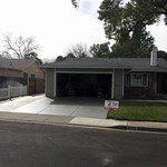 Enlarged Driveway And New Front Walkway In Vacaville