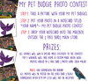 [ free bird ] My Pet Budgie Photo Contest - Ends Feb 20th!