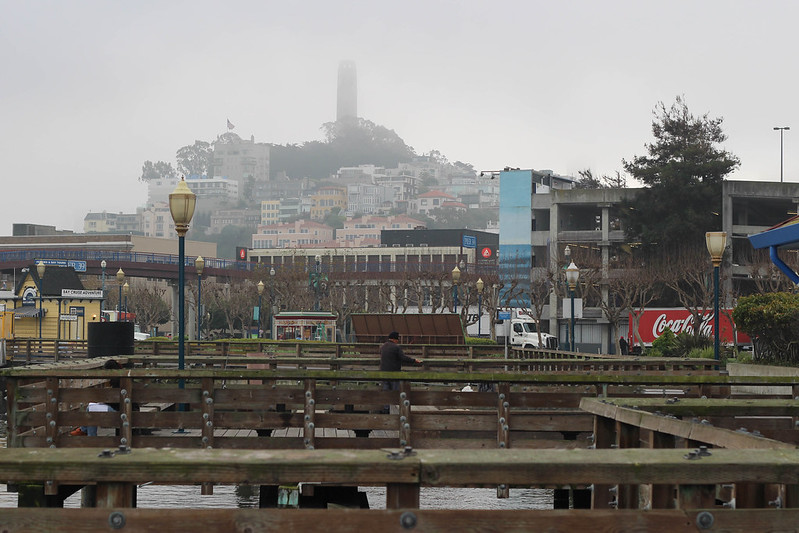 foggy San Francisco, California