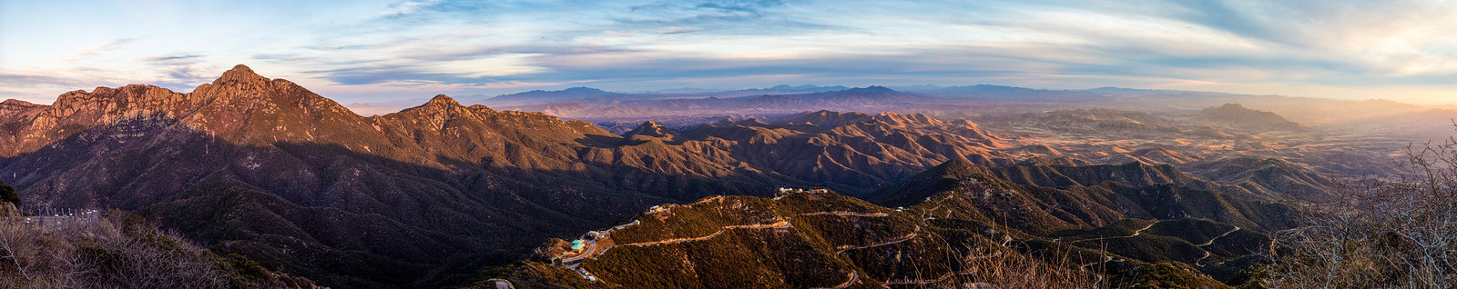 Mt. Wrightson, Sunset