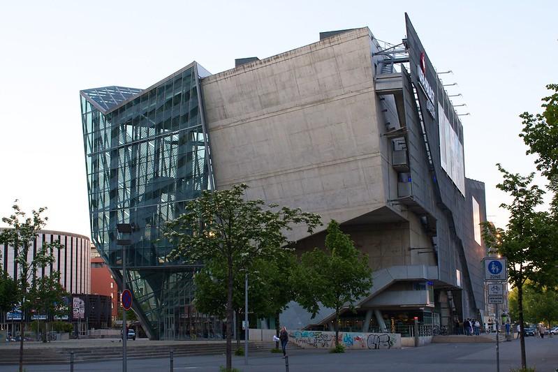 Cinema Center ufa cinema center dresden architecture revived