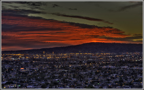sunset longbeach hdr sanpedro portofla