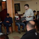 "Twenty seven debaters from four cities in Macedonia demonstrated their argumentation skills at a public debate event, held on Saturday, January 31st at hotel Ilinden in Strumica. This was a part of a three day event organized between Thursday, January 29th and Sunday, February 1st, as the final activity within the Debate in the Neighbourhood project of IDEA Southeast Europe. The 'Debate in the Neighbourhood"" project started in January 2014, featuring more than 100 young Roma highschool and university students, between the ages of 15 and 25."