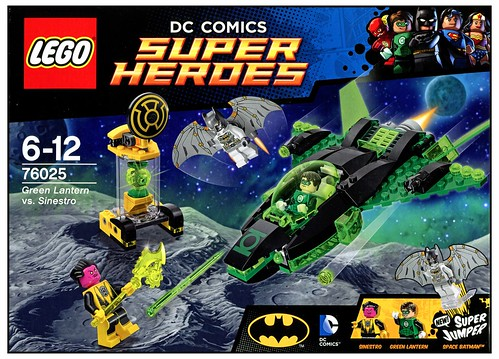 LEGO DC Super Heroes 76025 Green Lantern vs. Sinestro box02