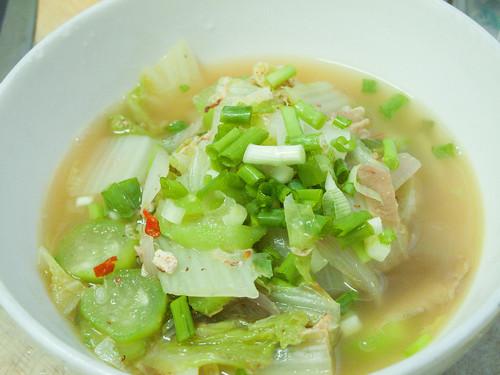016 胜瓜煮黄白汤
