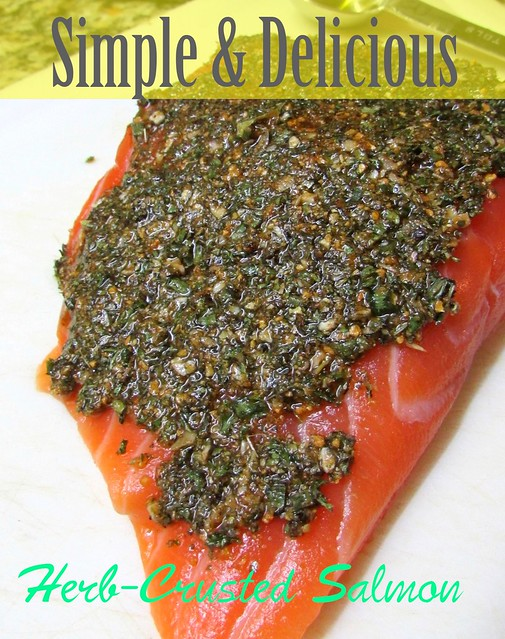 Simple & Delicious Herb-Crusted Salmon