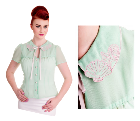 hell bunny blouse