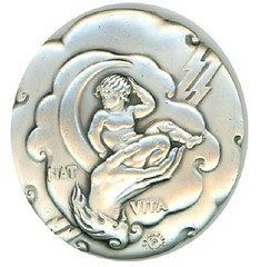 Creation medal obverse