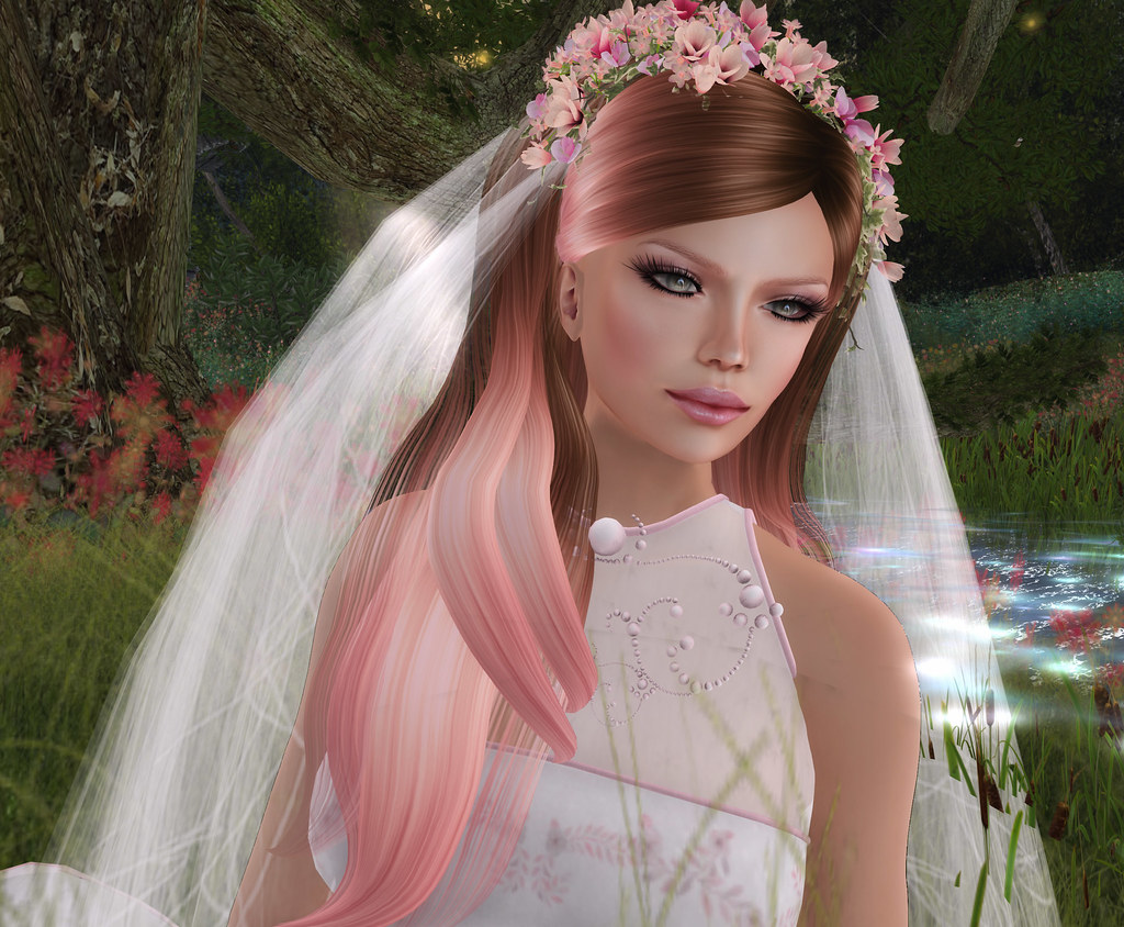 Thumbelina- NSP/MUSe accessories and hair to match gown by TWA , @ Enchantment