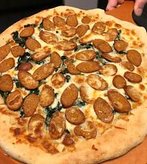 Pizza on the peel