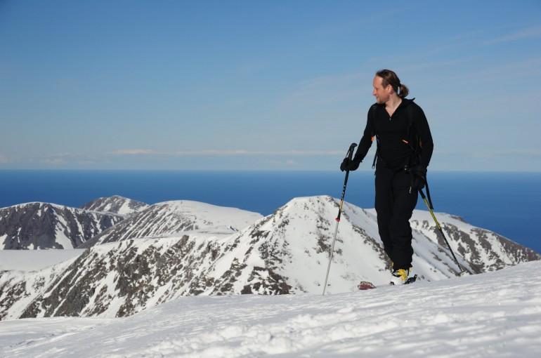 Norské Lyngenské Alpy - deník skialpinisty V.
