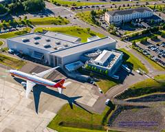 Future of Flight & Hilton Garden Inn Seattle North From the Air