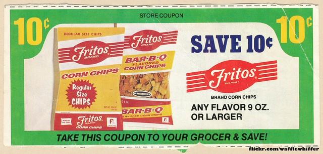Fritos Coupon - 1970s