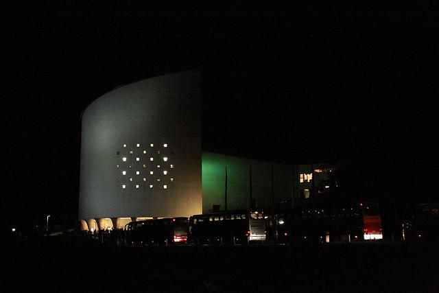 Festspielhaus by nacht