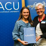 ACUscholarship2016-156 Grace Miller and and Prof. Karen Flowers
