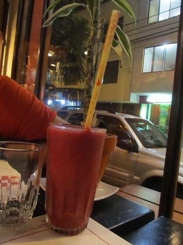 Baños: jus de mûres, une spécialité d'ici