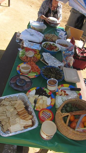 IMG_8666 SCAPE Goleta Beach picnic salads