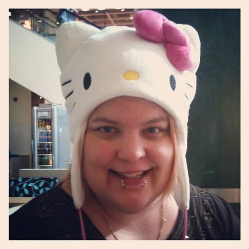 My new hat! #hellokitty #sanrio