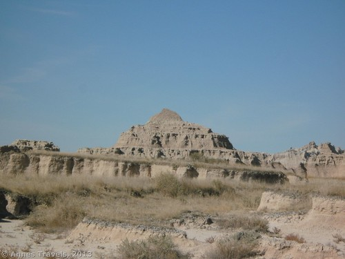 Buttes along the Castle Trail, Badlands National Park, South Dakota