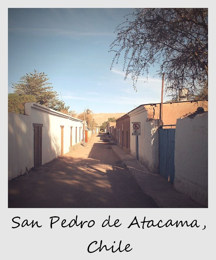 polaroid of the week chile san pedro de atacama
